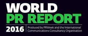 world pr report 2016 logo